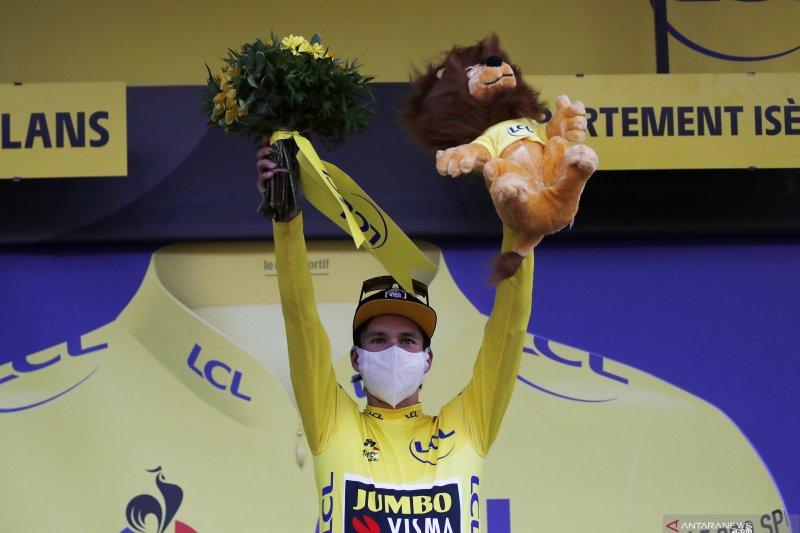 Klasemen sementara Tour de France setelah etape ke-16 Roglic di puncak