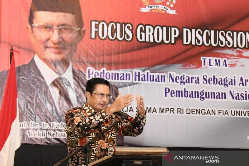 MPR: Arah pembangunan nasional harus lebih konsisten