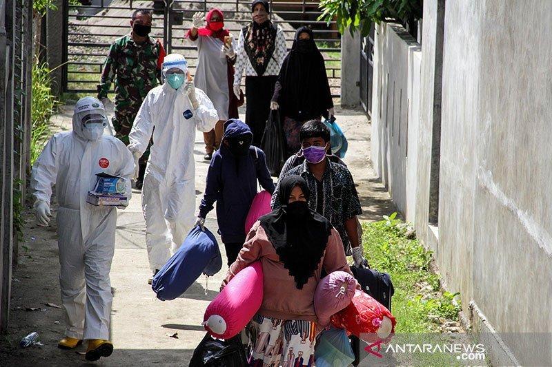Pasien terinfeksi COVID-19 di Aceh capai 3.000 orang lebih