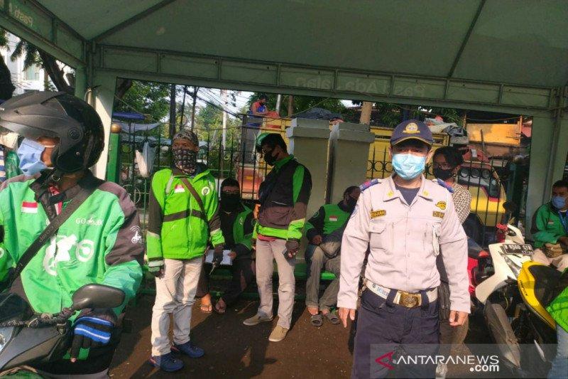 PSBB Jakarta, Dishub catat ada 1.034 kerumunan ojek selama sepekan