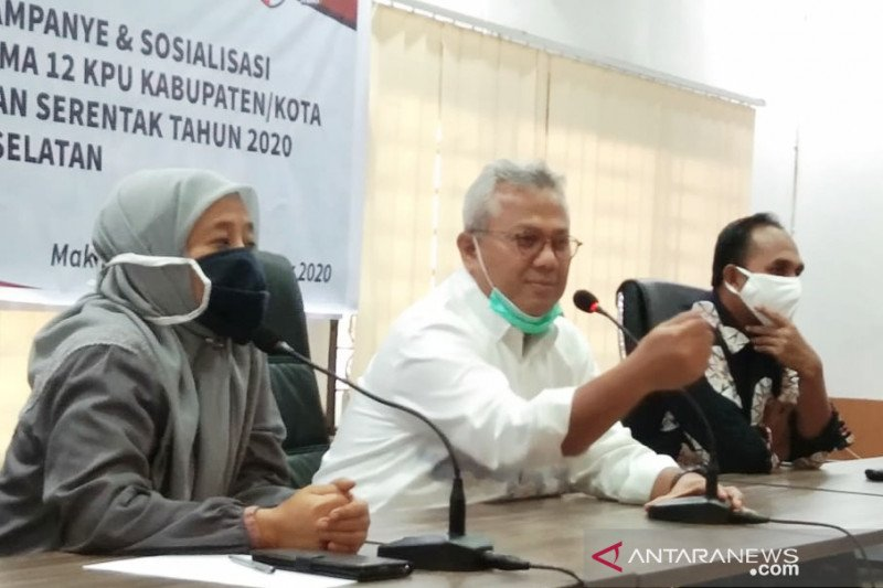 Ketua KPU tegaskan saat masa kampanye, pembatasan massa diberlakukan