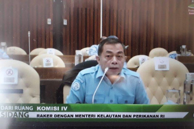 Menteri Kelautan dan Perikanan diwakili Sekjen dalam Raker dengan DPR