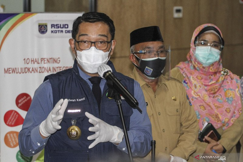 Gubernur Jawa Barat tinjau RSUD Depok