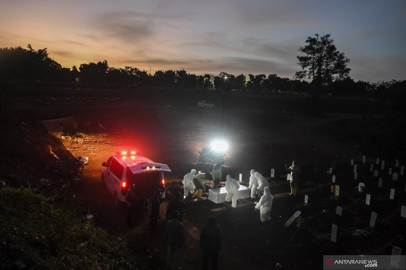 Ariza: Pengadaan lahan pemakaman sudah dalam proyeksi dan perhitungan