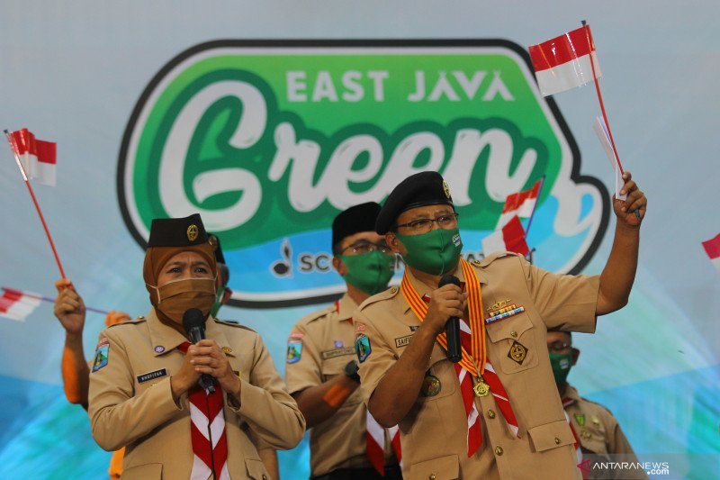 Pembukaan East Java Green Scout Innovation 2020