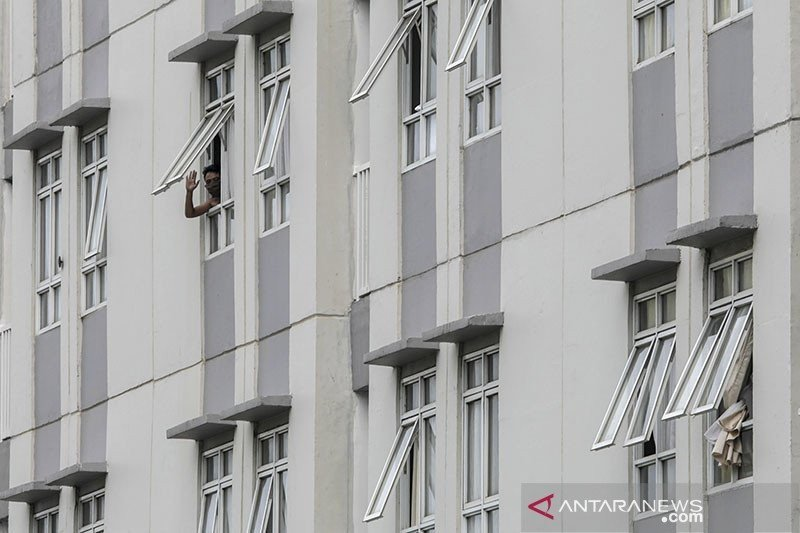 Tower 5 Wisma Atlet Kemayoran sudah terisi 91 persen