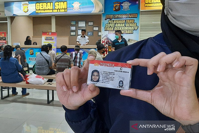 Senin, ini lima lokasi layanan SIM Keliling di Jakarta