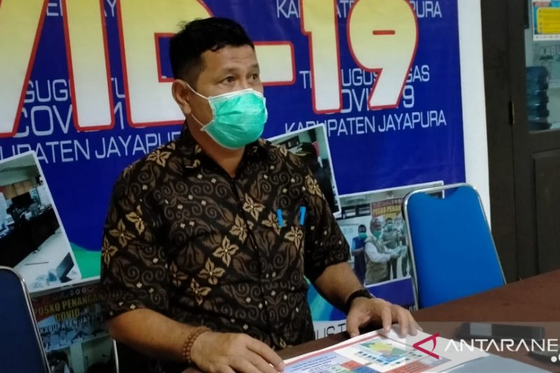 Pasien COVID-19 sembuh di Kabupaten Jayapura bertambah jadi 309