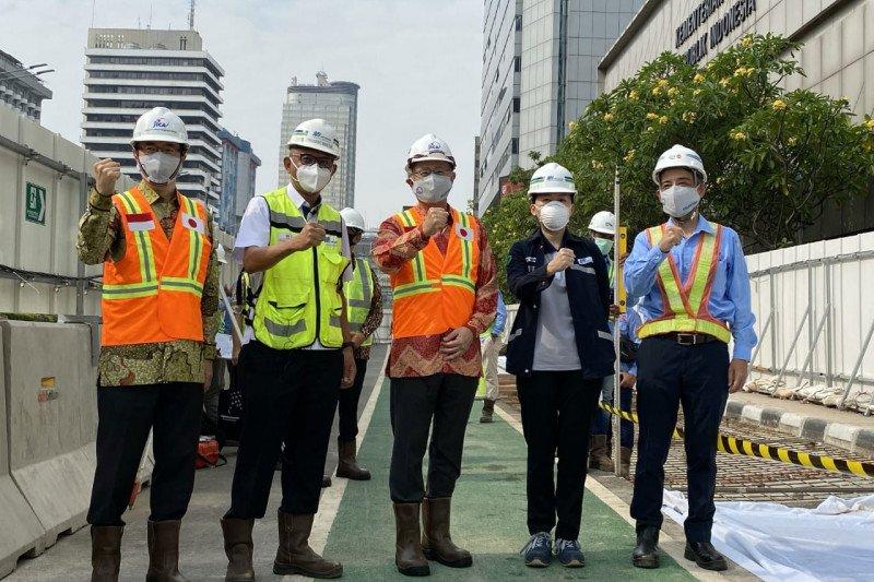 MRT harapkan JICA dorong kontraktor Jepang prioritaskan bangun fase 2