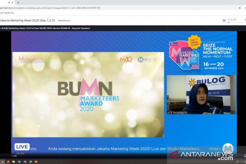 Bulog raih empat penghargaan dalam BUMN Marketeers Award 2020