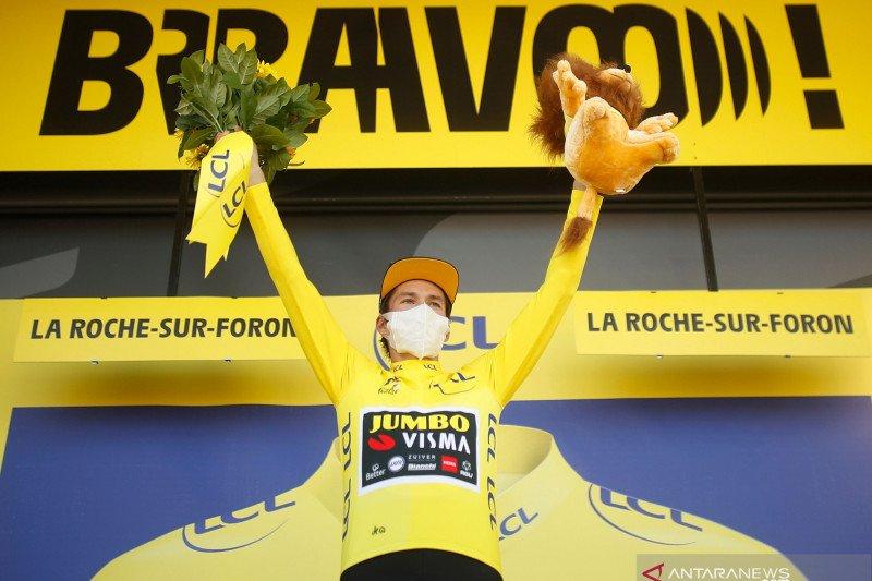 Klasemen sementara Tour de France setelah etape ke-18