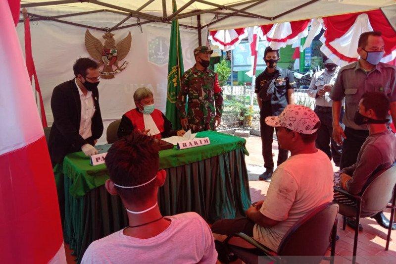 Forkompimda Kepulauan Seribu gelar operasi yustisi di permukiman