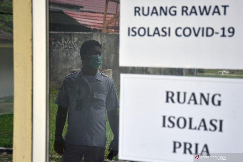 Kasus COVID-19 di Pekanbaru melonjak sebabkan ruang isolasi tinggal 96