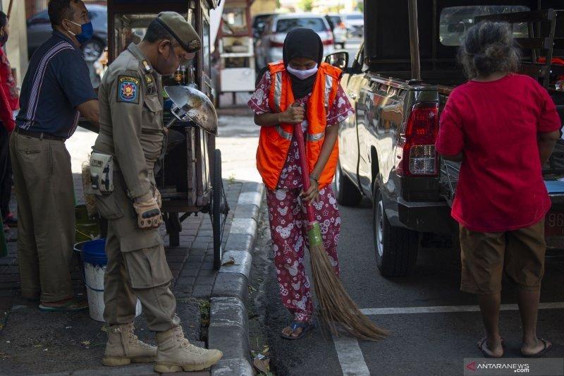Pelanggaran penggunaan masker menurun selama PSBB di Jakarta