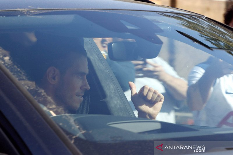 Liga Inggris : Gareth Bale tiba di London