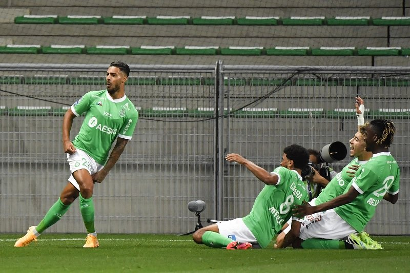 AS Saint-Etienne pecundangi Marseille skor 2-0