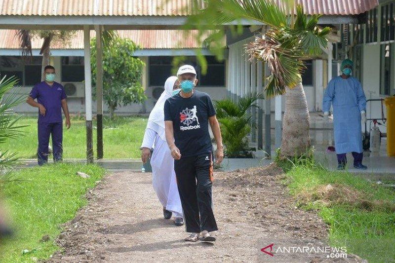 Pasien sembuh dari COVID-19 di Aceh bertambah 246 orang