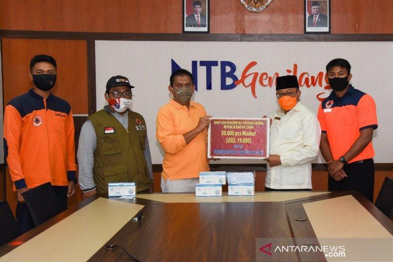NTB terima bantuan 50 ribu masker medis dari Provinsi Henan Tiongkok