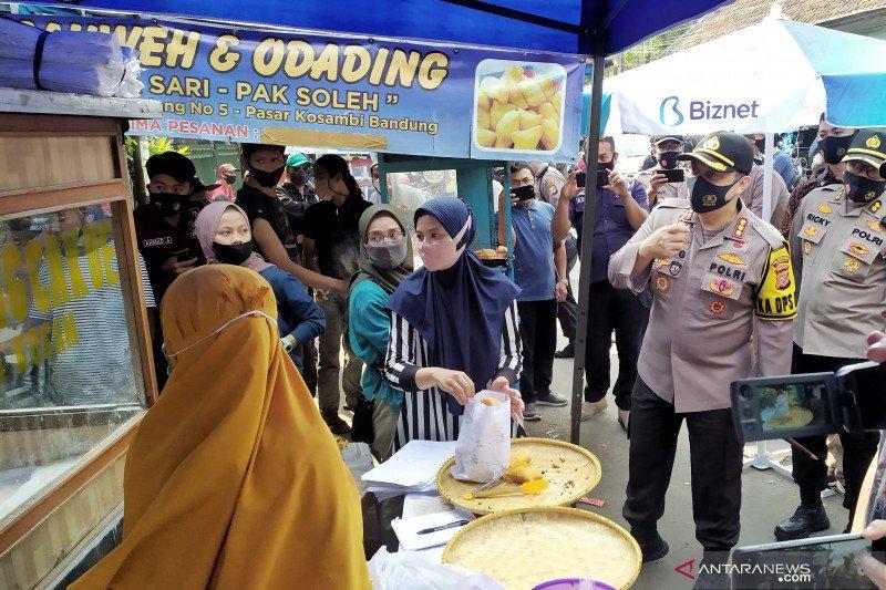 Operasi Yustisi, Polisi imbau warga luar kota tak datangi Kota Bandung