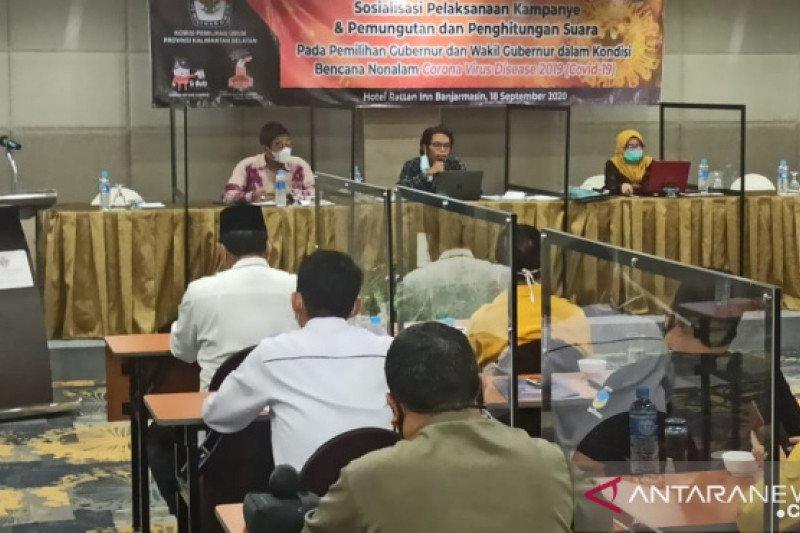 KPU Kalsel ingatkan calon gubernur taati aturan kampanye