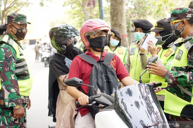 Kepatuhan masyarakat Tulungagung gunakan masker meningkat
