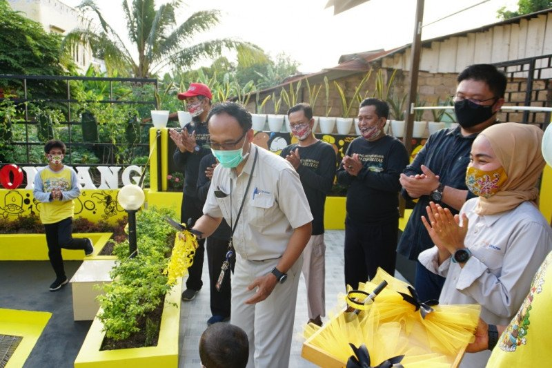 Pupuk Kaltim resmikan IPAL Domestik di Kampung Aren Bontang
