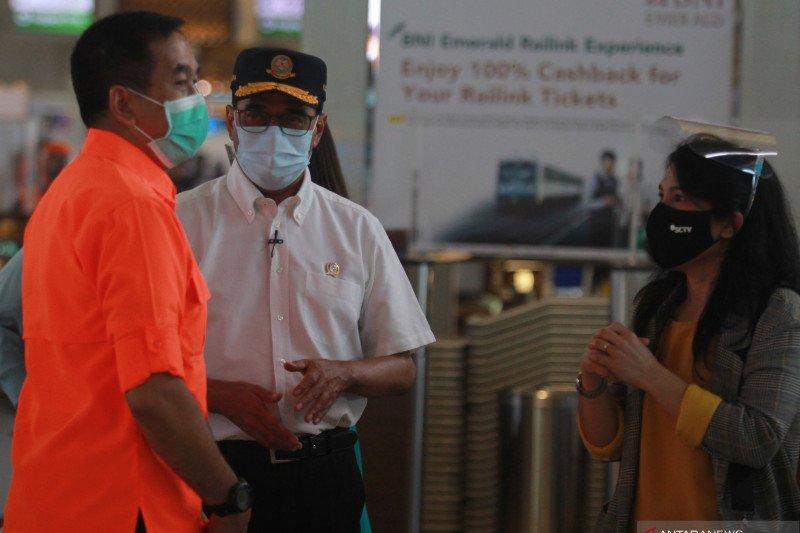 Inspeksi mendadak Menhub di Bandara Soetta