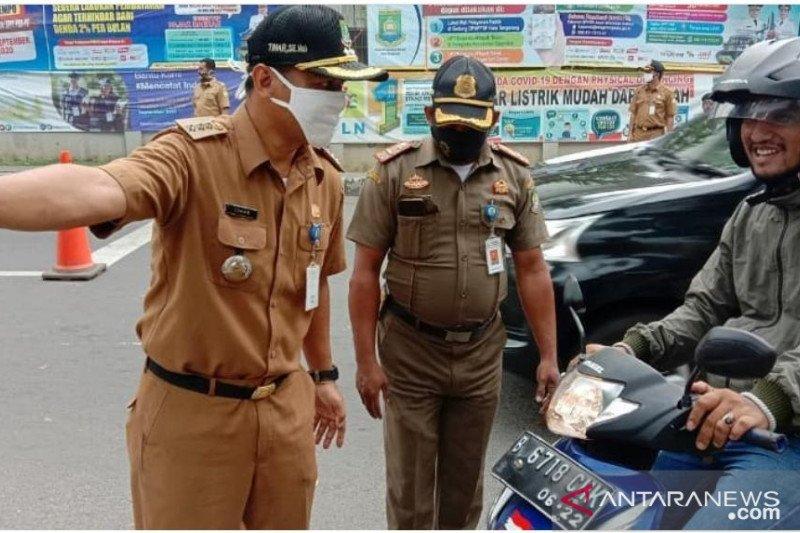 Sebulan COVID-19 meningkat, PSBL di Kota Tangerang diberlakukan