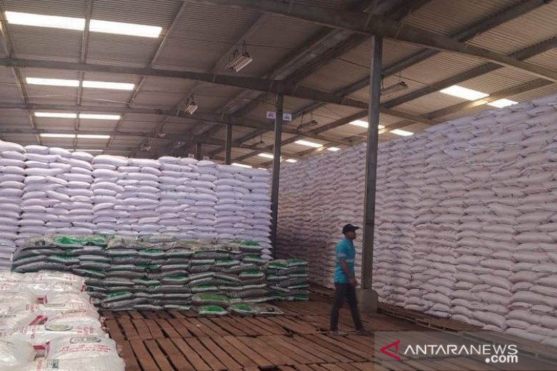 Pupuk Kujang: Stok pupuk subsidi di gudang Cianjur masih memadai