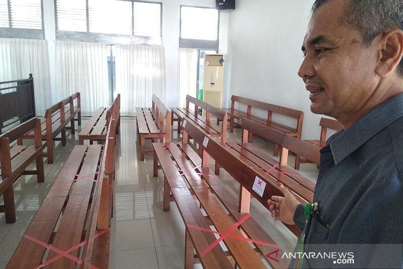 PN Banda Aceh tetap gelar sidang kendati ada hakim reaktif COVID-19