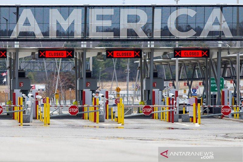 AS tutup perbatasan darat dengan Kanada, Meksiko hingga 21 Juli