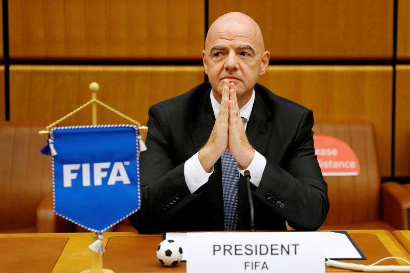 Presiden FIFA prihatin dengan penundaan kualifikasi Piala Dunia 2022
