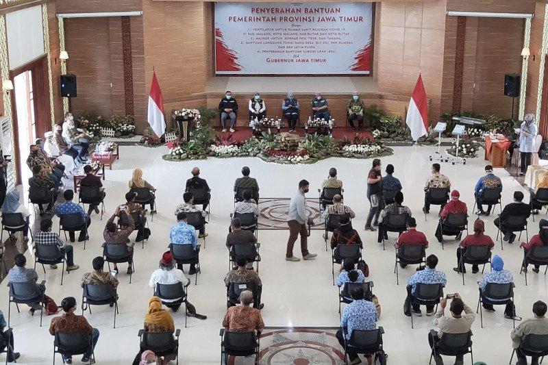 Di Malang Raya, rumah sakit rujukan COVID-19 dapat bantuan ventilator