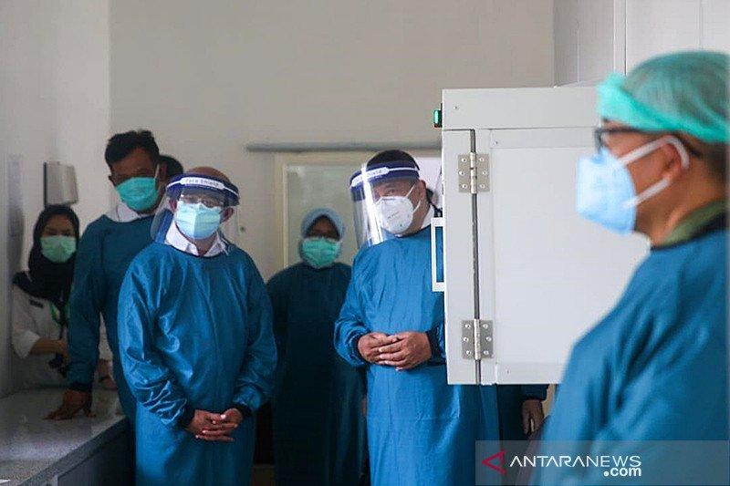 Muhadjir Effendy pantau pemanfaatan PCR di rumah sakit Kediri