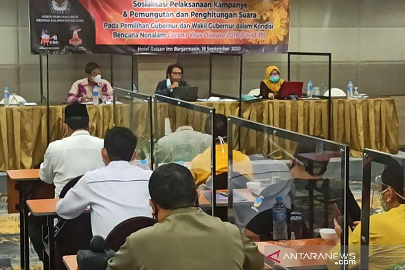 KPUD Kalimantan Selatan ingatkan paslon perkuat kampanye daring
