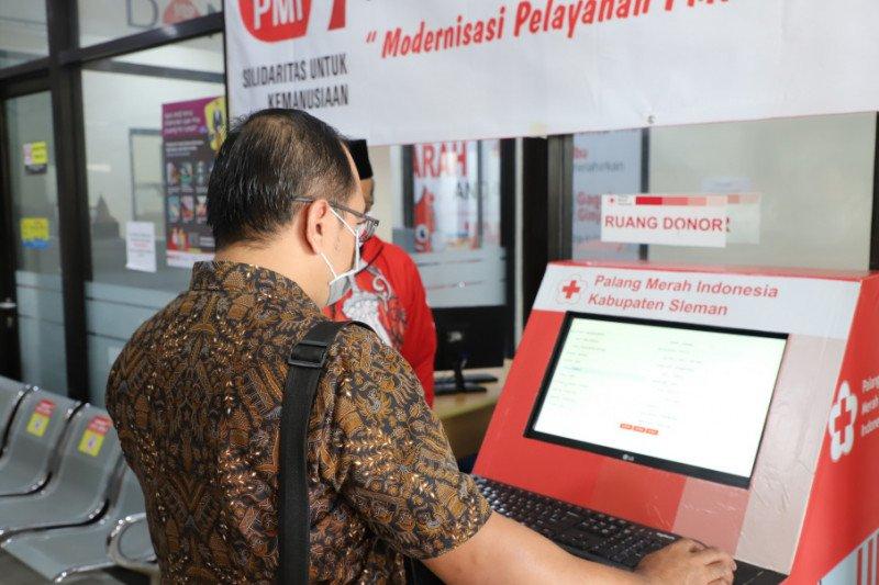 Di Sleman-DIY, PMI luncurkan anjungan mandiri donor darah