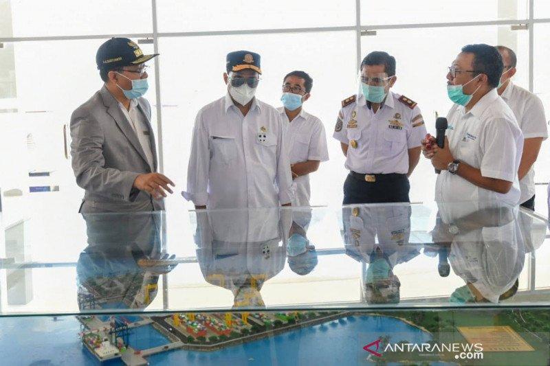Menhub cek kesiapan operasi dermaga dan terminal Gilimas