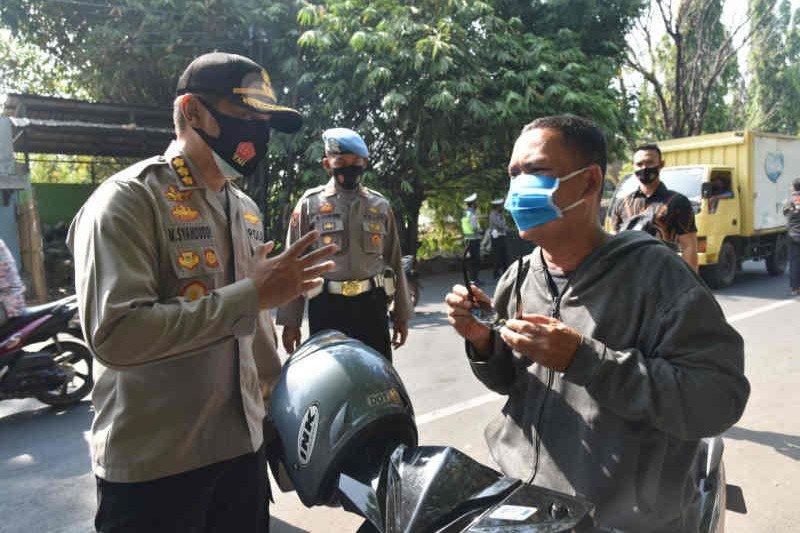 12.644 warga Cirebon terjaring Operasi Yustisi Protokol Kesehatan