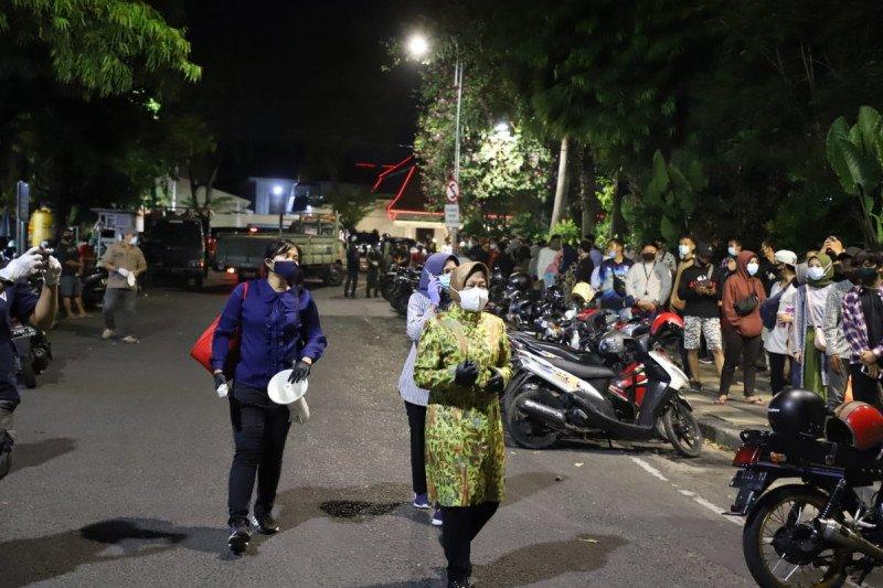 Wali Kota Surabaya pimpin operasi penegakan protokol kesehatan