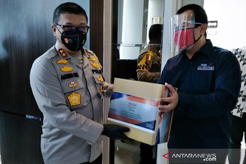 Direktur RS curhat ke Kapolda Riau terkait kelangkaan obat COVID-19