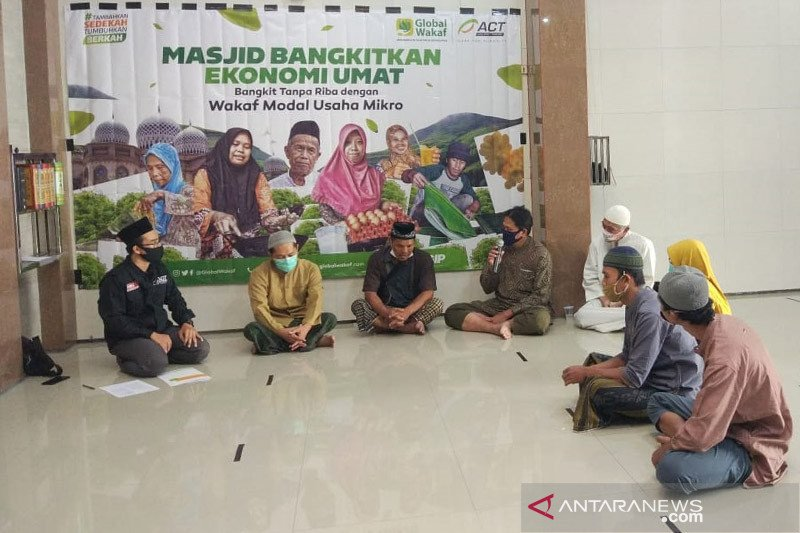 Program wakaf modal usaha mikro ACT Jember libatkan takmir masjid
