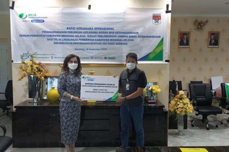 Ribuan THL/nonASN Minahasa Selatan dijamin BPJAMSOSTEK