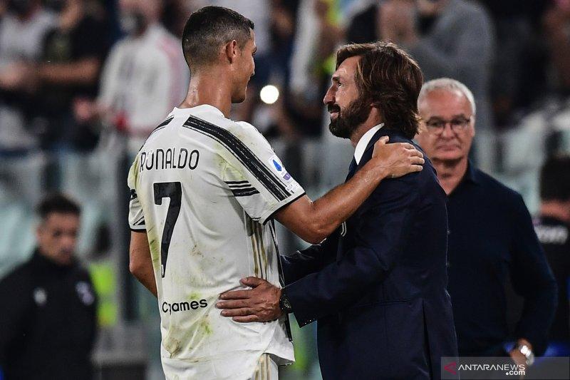 Juve era Pirlo memulai musim dengan kemenangan 3-0 atas Sampdoria