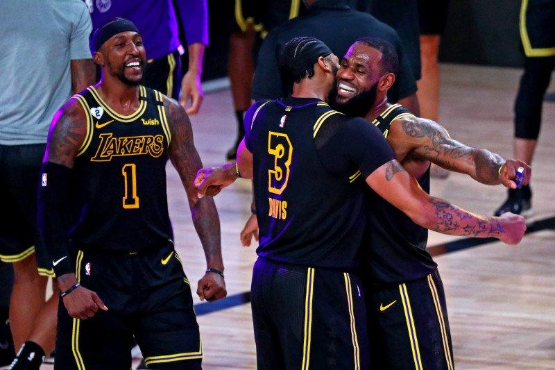 Lemparan tiga angka Davis bawa Lakers ungguli Nuggets 2-0
