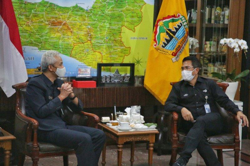 Bertemu Ganjar, TVRI siap promosikan UMKM dan pariwisata Jateng