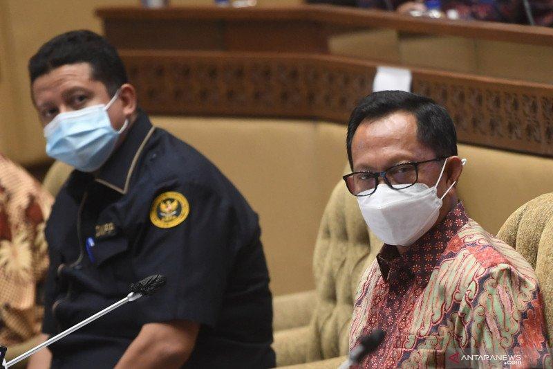Ketua DKPP bahas pemberhentian Ketua KPU Arief Budiman dengan DPR
