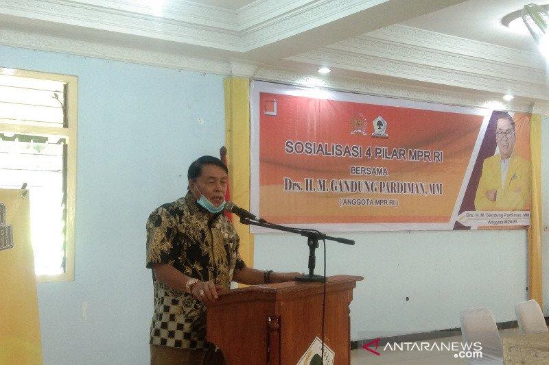 Anggota MPR RI sosialisasikan Empat Pilar di Bantul