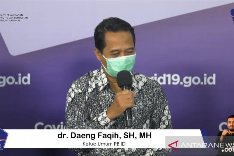 IDI: Pemeriksaan rutin PCR tekan risiko kematian dokter