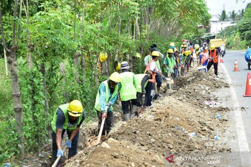 Pemerintah fokus pembangunan infrastruktur padat karya selama COVID-19