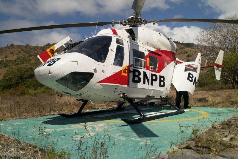 Helikopter BNPB digunakan untuk jemput sampel pemeriksaan COVID-19